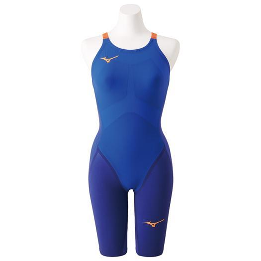 ミズノ 競泳女子水着 GX・SONIC 4 MR ハーフスーツ GXSONIC レディース水着 高速水着 N2MG9202-27 ブルー 【返品・交換不可】 2019NEWモデルー