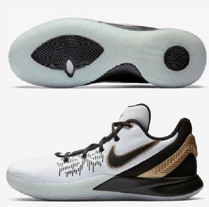 ナイキ NIKE メンズ バスケットボールシューズ カイリーフライトップ2 KYRIE FLYTRAP EP 2 AO4438-170 ホワイト/メタリックゴールド/ブラック 2019SS