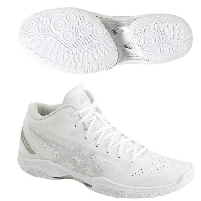 アシックス バスケットボールシューズ GELHOOP V11 ゲルフープV11 レギュラー 1061A015-119 ホワイト/シルバー 19SS