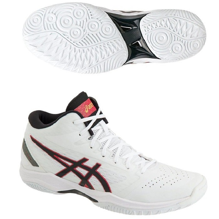 Athletic Shoes Asics Gelhoop V11 White Black Red Men Basketball Shoes Sneakers 1061a015-116 Clothing, Shoes & Accessories