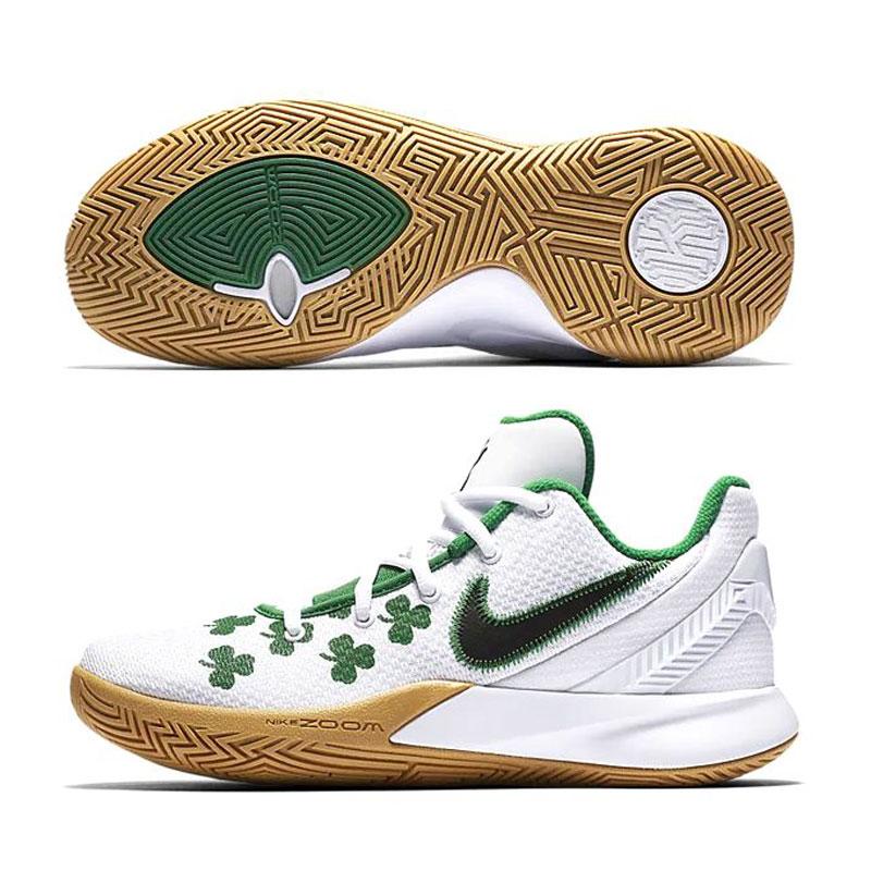 ナイキ NIKE メンズ バスケットボールシューズ カイリーフライトップ2 KYRIE FLYTRAP EP 2 AO4438-102 ホワイト/ブラック/アロエヴェルデ 19SU