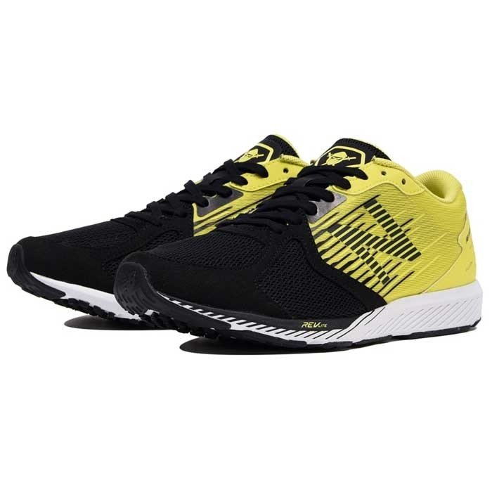 new balance(ニューバランス)NB HANZOR M MHANZR(MHANZRL22E)YELLOW/BLACK ランニング マラソン ジョギング メンズ 19FW