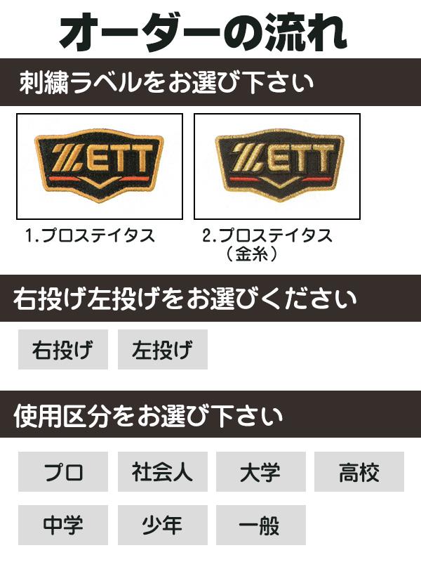 ゼット プロステイタス オーダーグラブ 吉川モデル 541型 硬式グローブ 基本モデル 2019年モデル 投手用 ピッチャー 硬式グラブ z-z-kp-yosikawa