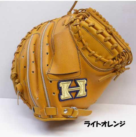 野球 軟式 キャッチャーミット NPC-270 ハイゴールド 右投げ【スチーム加工無料】