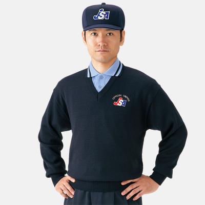 ソフトボール審判員用 V首セーター MIZUNO 52SU4514
