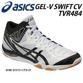 【送料無料】asics 【アシックス】/バレーボール シューズ/GEL-V SWIFT CV MT ゲルブイスウィフト ミッドカット/スポーツ TVR484