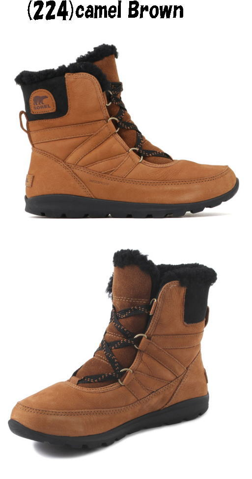 【30%OFF】【実店舗共通在庫】SOREL ソレル ウィットニーショートレースプレミアム【返品・交換不可】スノーブーツ レディース ウインターブーツ ウィンターブーツ ウィメンズ ブーツ 靴 シューズ 冬靴 スノーシューズ NL3429 224 ★22000