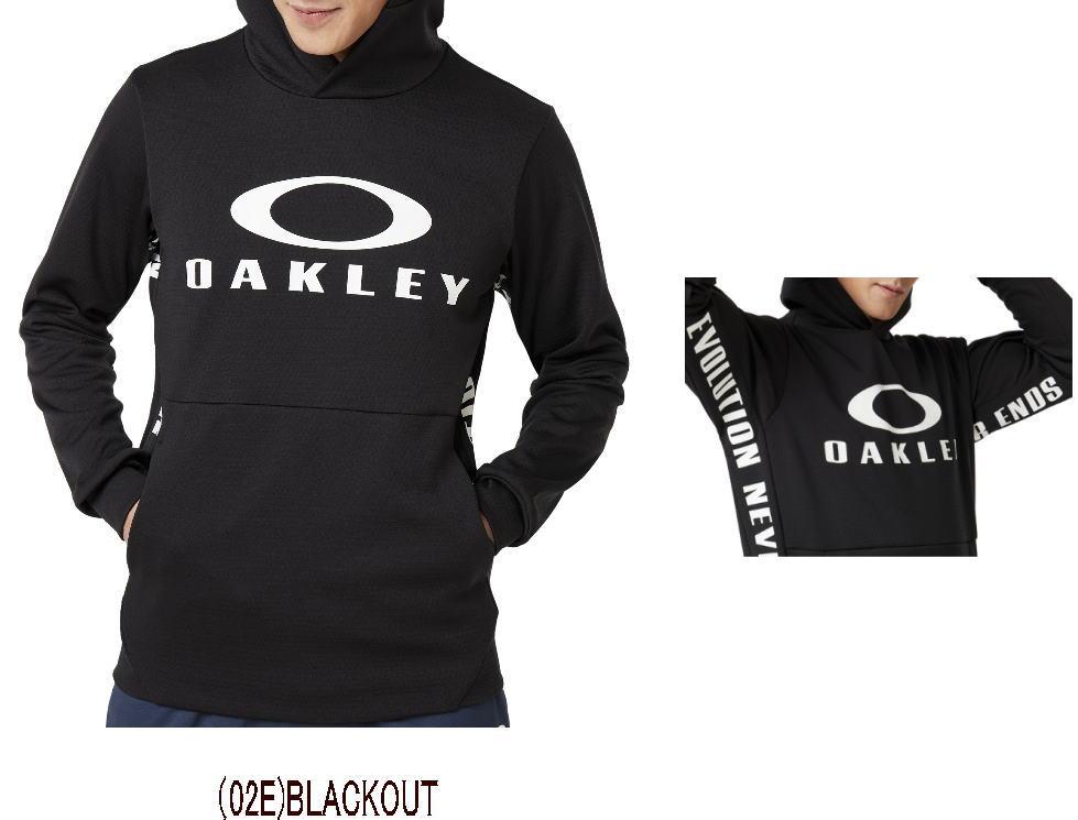 【実店舗共通在庫】OAKLEY オークリー ENHANCE GRID FLEECE HOODY 9.7 メンズ フリース パーカー プルオーバー パーカ トップス スウェットパーカー フリースパーカー ★7500