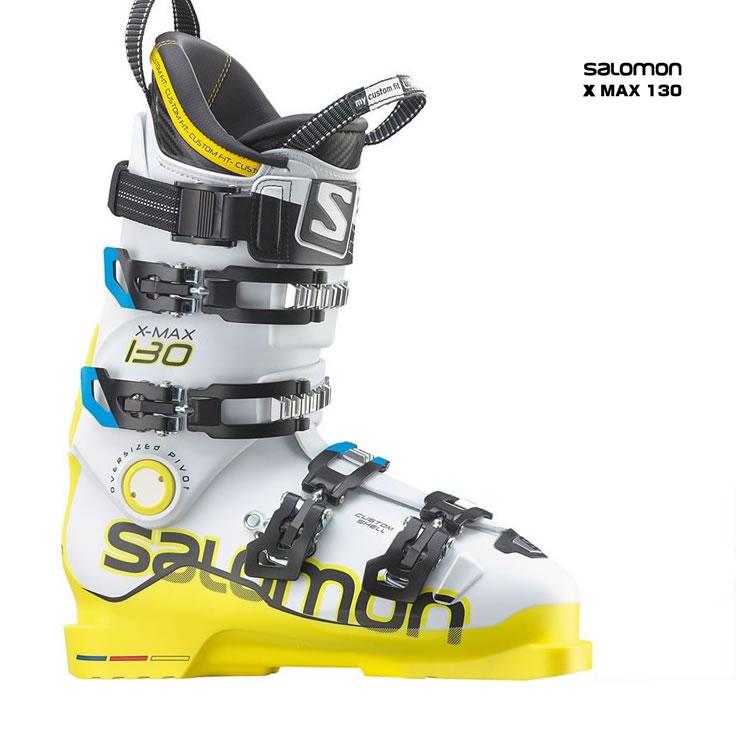 【あす楽対応可】☆サロモン スキーブーツ X MAX 130 スキー靴【即納OK】 SALOMON エックスマックス L32587200 ●14-15