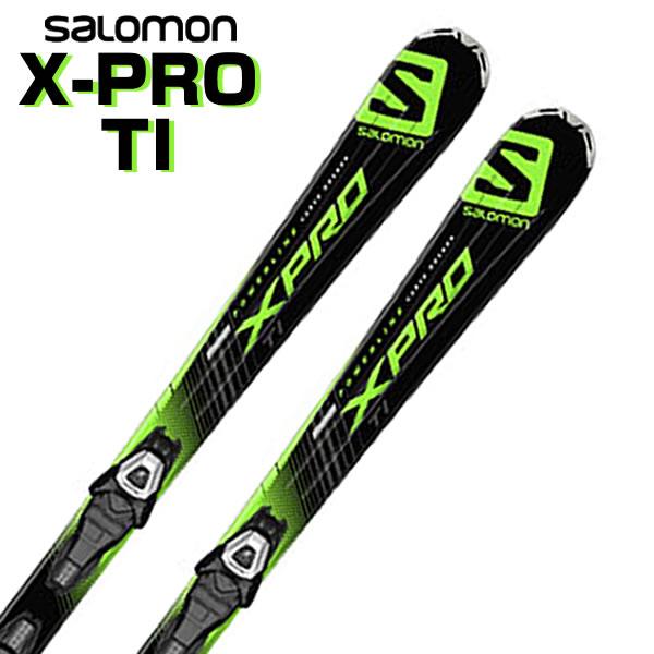 【あす楽対応可】サロモン ロッカースキー X-PRO TI+LITHIUM 10 L80 板+ビンディング 2点セット 154cm 【即納OK】SALOMON L37786700 ●15-16