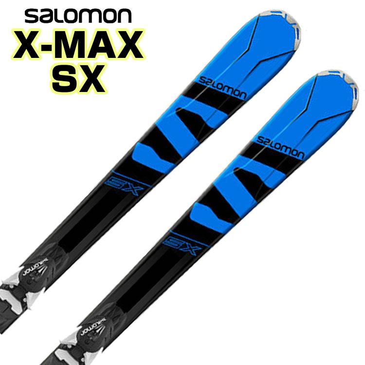 【あす楽対応可】サロモン ロッカースキー X-MAX SX + MERCURY11 板+ビンディング 2点セット 150cm 155cm 165cm 【即納OK】SALOMON L39956800 ●17-18