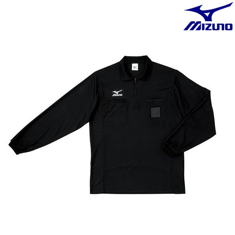 ミズノ サッカー レフリーシャツ(長袖) 【お取寄せ品】62SR900 ●16 フットボール
