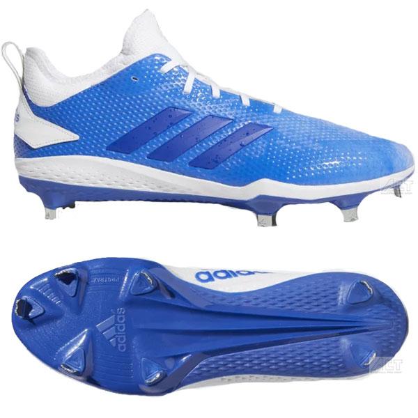 アディダス Adidas 野球 スパイク 金具スパイク 埋め込み金具 大人用 一般用 ADIZERO AFTERBURNER V SPLASH CLEATS F76037 28.5cm