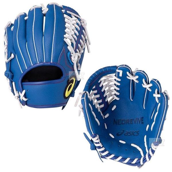 アシックス asics 野球 ジュニア 軟式グローブ オールラウンド 軟式グラブ ブルー 3124A132 限定モデル ネオリバイブ 少年用グローブ 訳あり品送料無料 NEOREVIVE