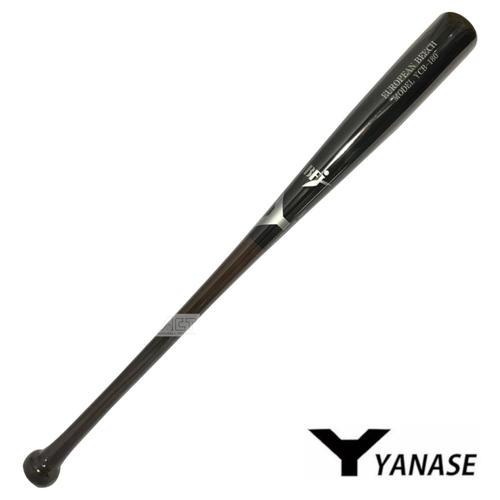 ヤナセ Yバット 硬式木製バット ビーチ BFJマーク入り バット 硬式用 木製バット YCB-180 ブラック
