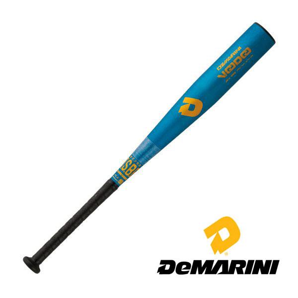 ディマリニ ヴードゥ 少年軟式用バット ライトブルー トップバランス 74cm WTDXJRRDJ
