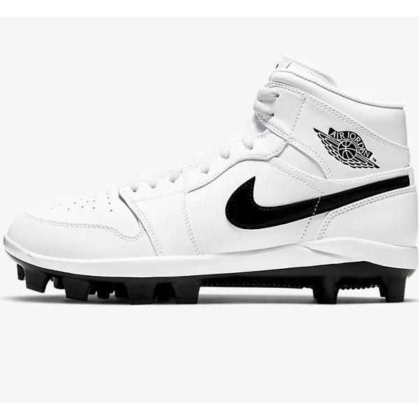 ナイキ ポイントスパイク Nike 野球 大人用 一般用 ジョーダン1レトロ Jordan 1 Retro Metal ハイカットタイプ 軽量 メンズ AV5354