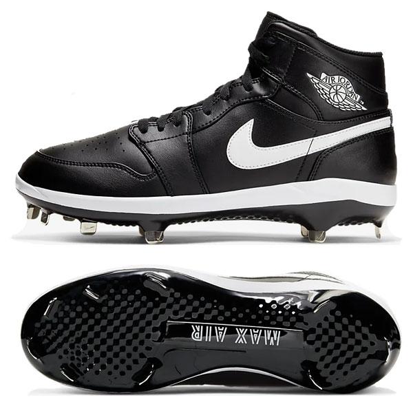 ナイキ 金具スパイク Nike 野球 大人用 一般用 ジョーダン1レトロ Jordan 1 Retro Metal ハイカットタイプ 軽量 メンズ AV5355