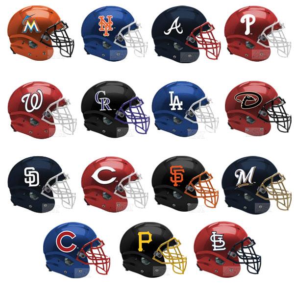 楽天市場】MLBミニヘルメット MLBチーム ナショナルリーグ アメリカン ...