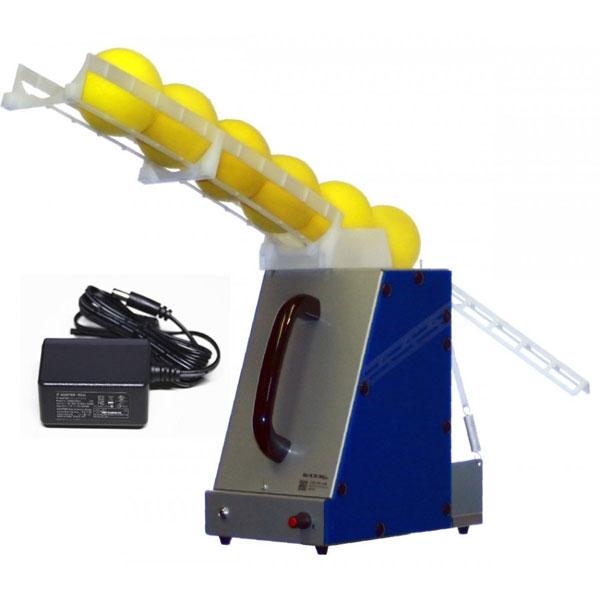 スポンジボール専用アーム式バッティングマシン【ACアダプタ付き】 単1形電池2本付属 バッティング練習 トレーニング