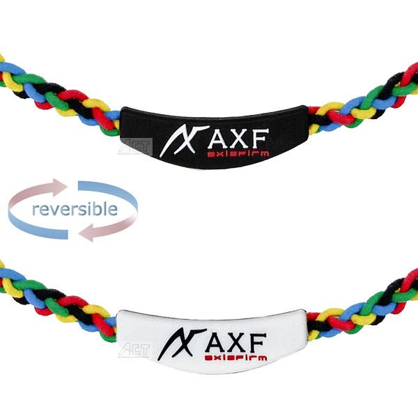 送料無料新品 アクセフ AXF 大幅にプライスダウン カラーバンドRSマルチ ブラックラベル 2260006 ネックレス