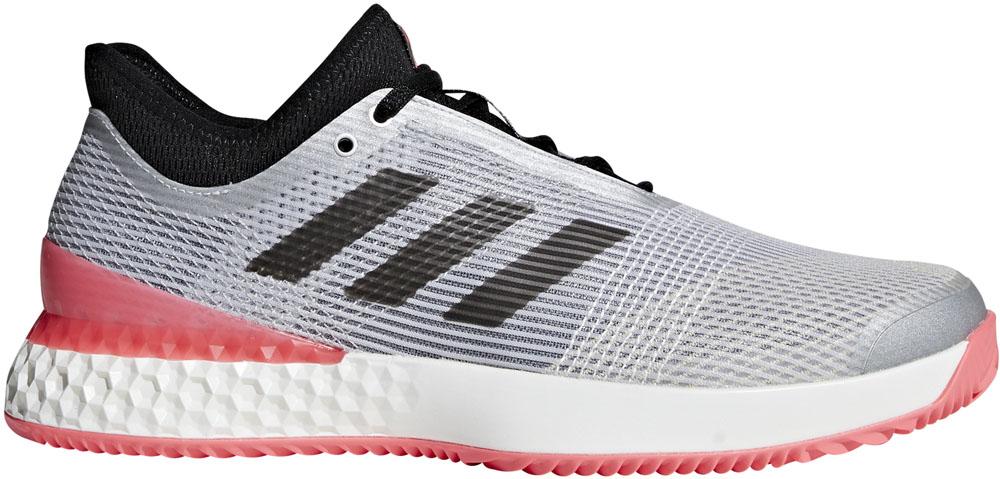 adidas(アディダス)テニスシューズUBERSONIC 3 MULTICOURTF36722マットシルバー/コアブラック