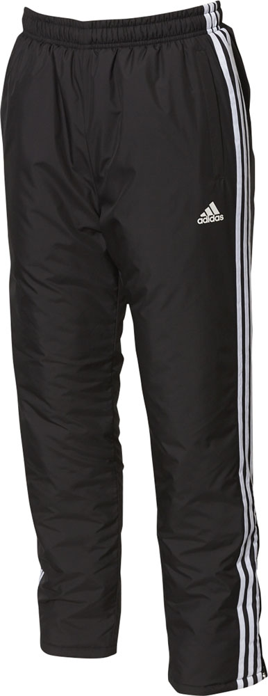 adidas(アディダス)野球&ソフトウインドウェアBSウォーマーパンツFUX97ブラック×ホワイト