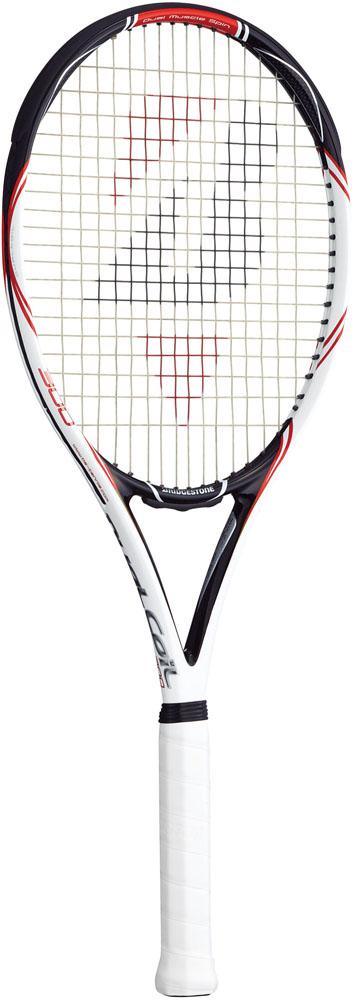 BridgeStone(ブリヂストン)テニスラケット【硬式テニスラケット】デュアルコイル 300 ブラックオレンジ(フレームのみ)BRAD61
