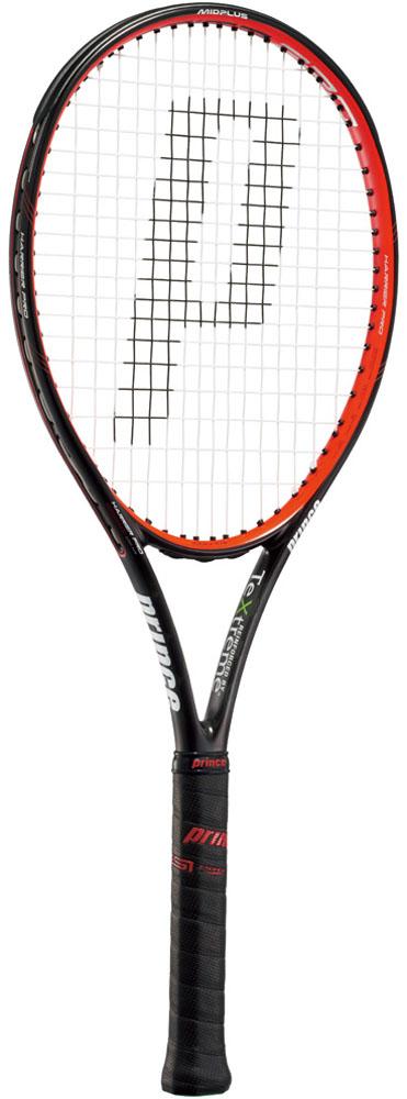 Prince(プリンス)テニスラケットハリアープロ 100 XR ブラック×レッド7TJ018