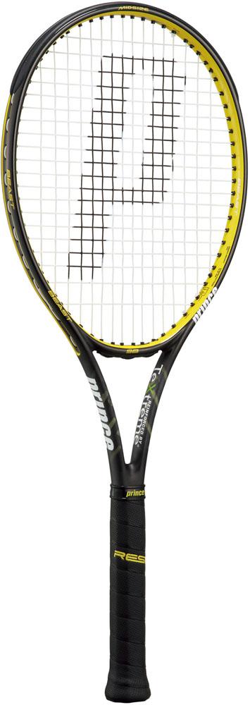 Prince(プリンス)テニスラケット硬式テニス用ラケット(フレームのみ) ビースト 98 ブラック×イエロー7TJ067