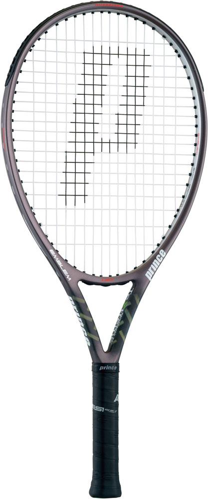 Prince(プリンス)テニスラケット(硬式用テニスラケット(フレームのみ)) エンブレム 120 ガンメタリック×シルバー7TJ068