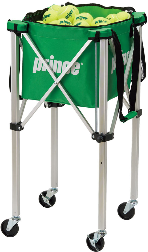 Prince(プリンス)テニス器具・備品テニス ボールバスケット ロックピンキャスター付PL064GRN
