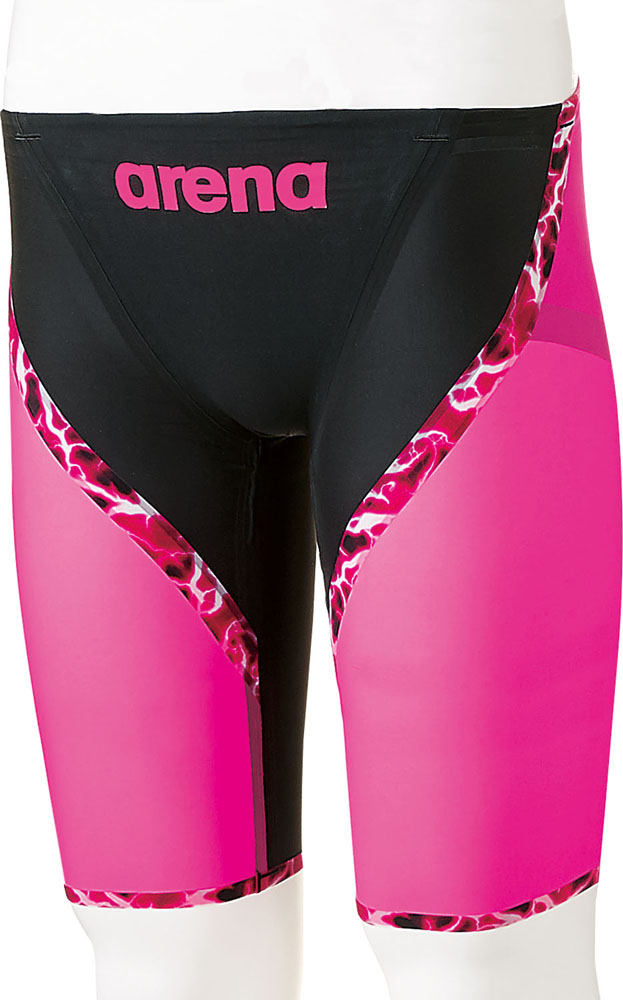 ARENA(アリーナ)水泳水球競技水着AQUAFORCE LIGHTNING ハーフスパッツARN6003MBKPP