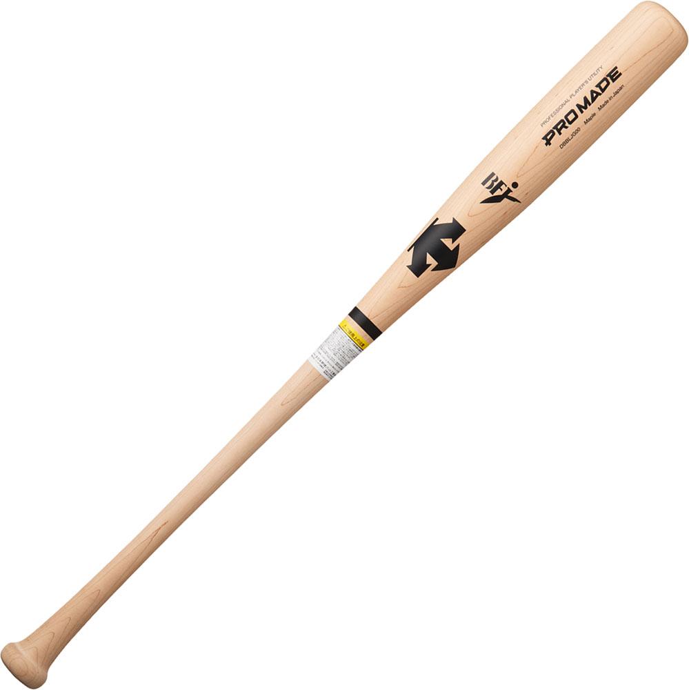 デサント(DESCENTE)野球&ソフト野球バット硬式木製バット(日本ハム・中島卓也選手モデル)DBBLJG00NTU