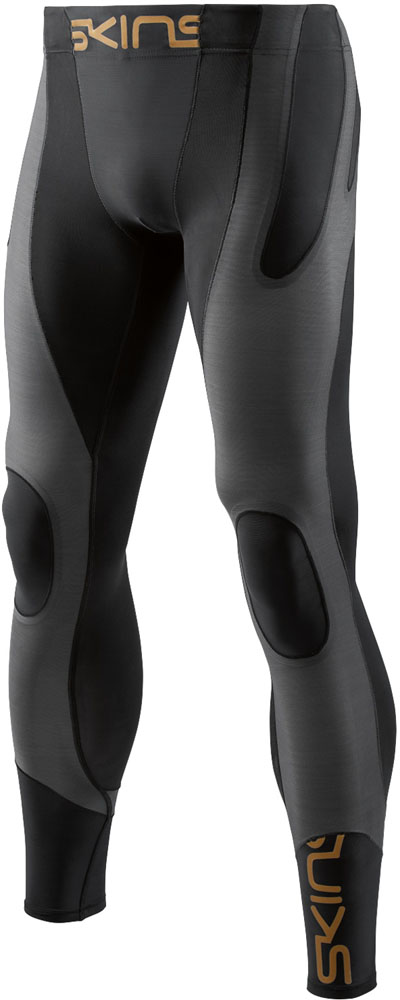 SKINS(スキンズ)ボディケアゲームシャツ・パンツA400 K-PROPRIUM メンズ ロングタイツDU84010050BKCH