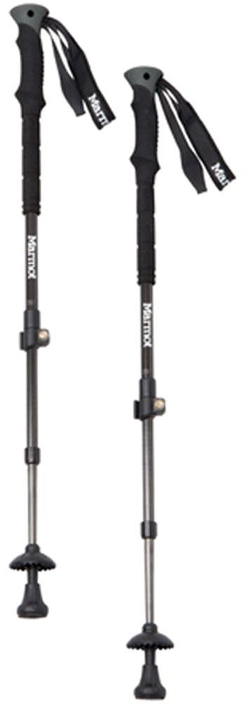 Marmot(マーモット)アウトドアグッズその他Carbon Trekking Pole SET(カーボントレッキングポールセット) MJA-S6373SMJAS6373Sブラック