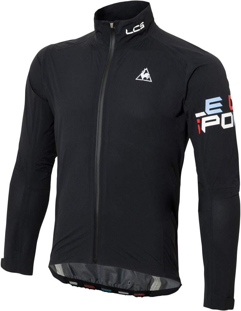le coq sportif(ルコック)サイクルウインドウェアライトシェルジャケット メンズ サイクルジャケットQCMLGC22ブラック