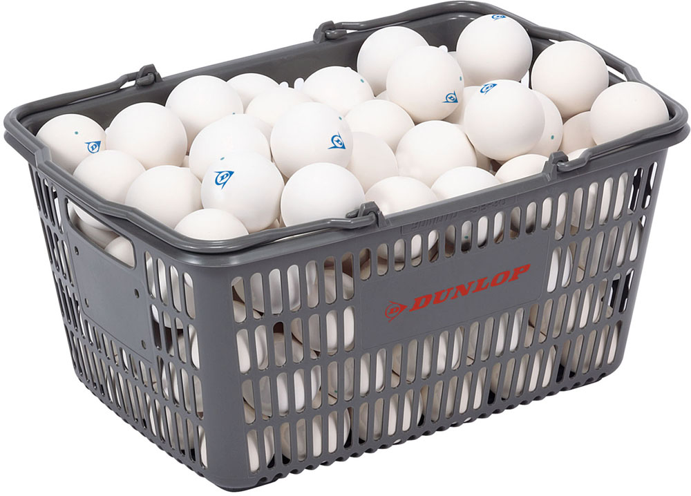 DUNLOP(ダンロップテニス)テニスDUNLOP ダンロップ ソフトテニスボール練習球 10ダース入りバスケットDSTBPRA2CS