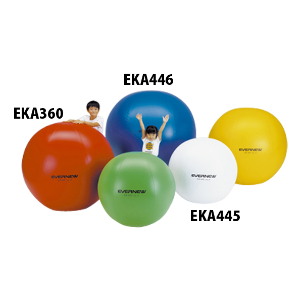 エバニュー(Evernew)学校体育器具グッズその他カラー大玉120EKA360シロ 90