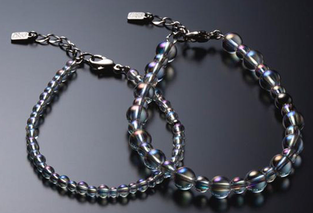 ファイテン(PHITEN)ボディケアグッズその他チタン水晶コンビブレス(+3cmアジャスター)AQ811025