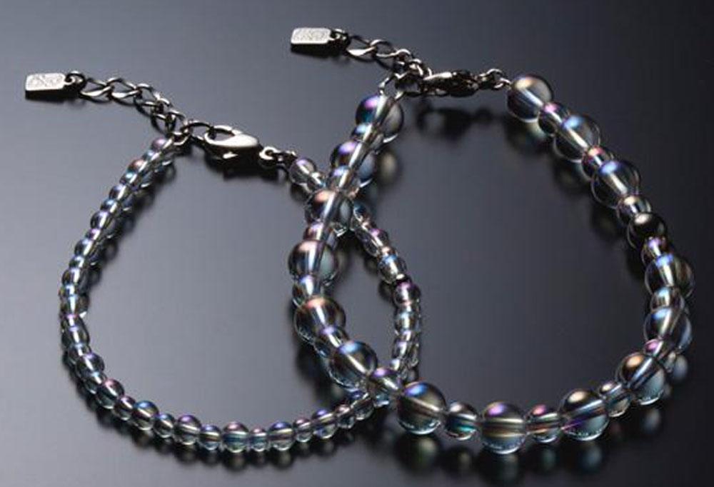 ファイテン(PHITEN)ボディケアグッズその他チタン水晶コンビブレス(+3cmアジャスター)AQ813027