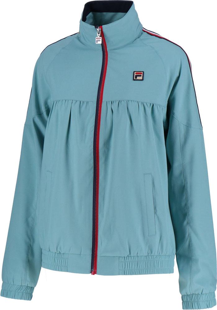 FILA(フィラ)テニスウインドウェアウインドアップジャケットVL1910ミネラルブルー
