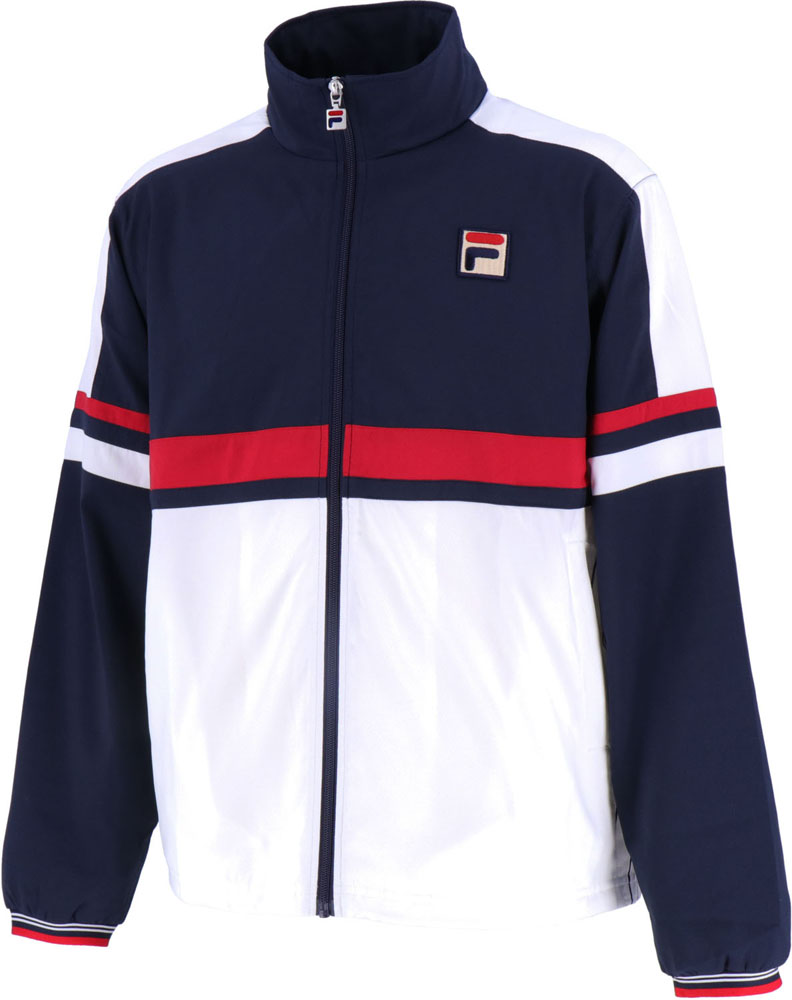 FILA(フィラ)テニスウインドウェアメンズ ウィンドアップジャケットVM5410フィラネイビー
