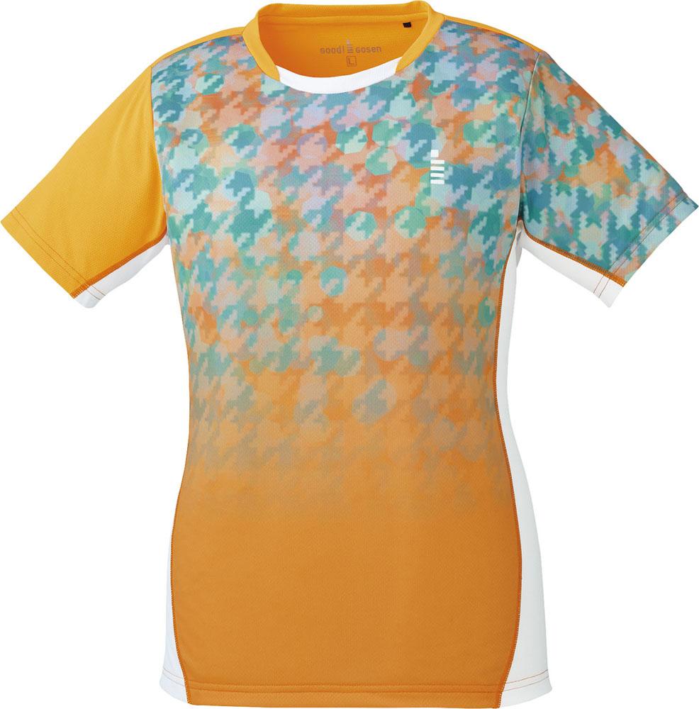 GOSEN(ゴーセン)テニスレディース テニス・バドミントンウェア ゲームシャツT1807