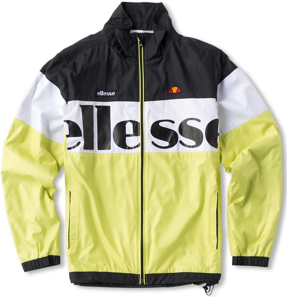 Ellesse(エレッセ)テニスウインドウェア(男女兼用 テニスウェア) TEAM ウインドアップジャケットETS57351レモネード