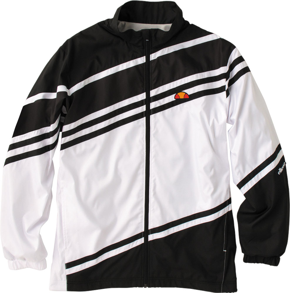 Ellesse(エレッセ)テニスウインドウェアチームウインドアップジャケットETS58300ブラック