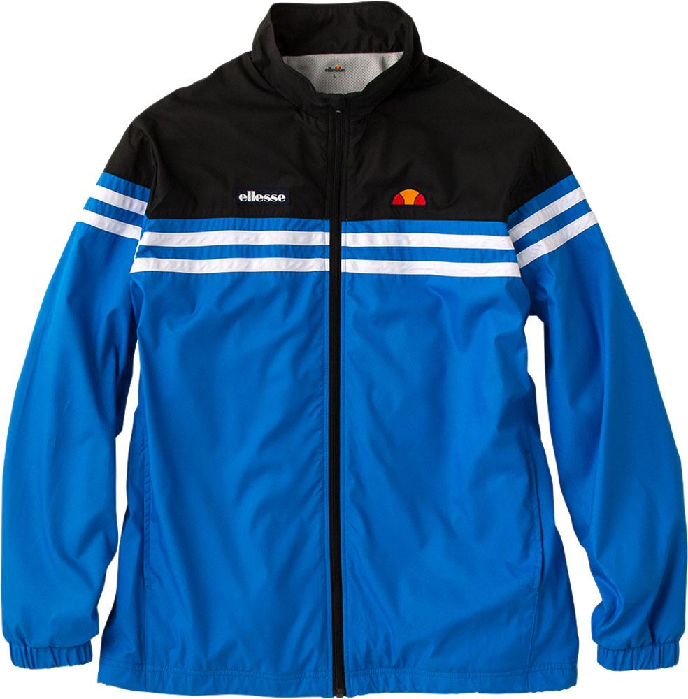 Ellesse(エレッセ)テニスウインドウェアチームウインドアップジャケットETS58301ブルー