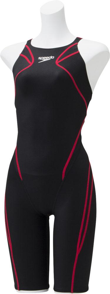 Speedo(スピード)水泳水球競技水着アトラスニースキンジュニアSCG11906FK*RE