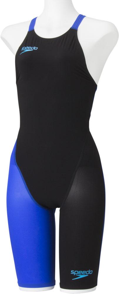 Speedo(スピード)水泳水球競技水着レディース FASTSKIN FS-PRO2 ニースキン(II)SD48H06K*BL