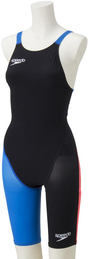 Speedo(スピード)水泳水球競技水着レディース FASTSKIN FS-PRO2 ニースキン(II)SD48H06K*BB
